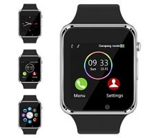 Bluetooth Smart Watch  Aeifond Touch Screen Sport Smart Wrist Watch Smartwatch Phone Fitness Tracker With Camera Pedometer SIM TF Card Slot for iPhone IOS Samsung Android for Men Women Kids