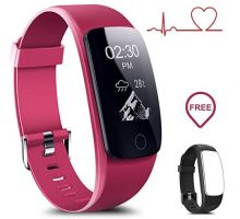Coffea Fitness Tracker H7HR Activity Tracker  Heart Rate Monitor Wireless Smart Wristband Bracelet Waterproof Fitness Watch Replacement Band Android & IOS