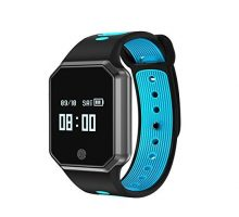 CUAEELO QW12 Men Woman Bluetooth Smart Watch Smart Bracelet Heart Rate Waterproof Watch Detachable Sports Bracelet for Ios Android Phone