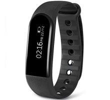 Dularf Fitness Monitor Bluetooth 40 Heart Rate Tracker Wristband Waterproof Smart Bracelet Pedometer Android iOS Smartphone …