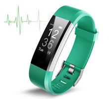 Fitness Activity Tracker ID115 Fitness Tracker with Heart Rate monitor Activity Tracker Waterproof Bluetooth Smart Watch Wireless Smart Bracelet Sleep Monitor Pedometer Wristband