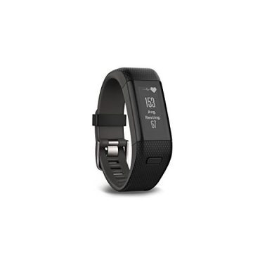 Garmin vívosmart HR+ Regular Fit Activity Tracker  Black