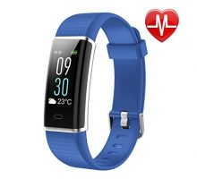 LETSCOM Fitness Tracker Heart Rate Monitor Watch with Color Screen IP68 Waterproof Step Counter Calorie Counter Sleep Monitor Pedometer Smart Watch for Kids Women and Men