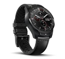 TicWatch Pro Bluetooth Smart Watch Layered Display NFC Payments Google Assistant Wear OS by Google
