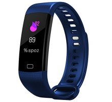 Fitness Tracker HR Activity Tracker with Heart Rate Monitor Watch IP67 Waterproof Color Screen Smart Wristband with Calorie Counter Watch Pedometer Sleep Monitor for Kids Women Men