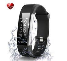 Fitness Tracker Waterproof Activity Tracker Heart Rate Monitors Sleep Tracking Wireless Bluetooth Activity Tracker Smart Bracelet Pedometer Fitness Sports Wristbands