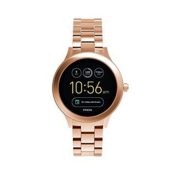 Fossil Q Women Gen 3 Venture Stainless Steel Smartwatch Color Rose GoldTone