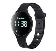 iGANK Fitness Tracker Watch T6A NonBluetooth Smart Bracelet Walking Pedometer Watch Step Counter Calorie Burned Distance Alarm Stopwatch for Kids Men Women