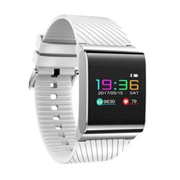 Beafup Kids Adults Smart Watch Colour Screen Smart Sports Wristband Waterproof Blood Pressure heart Rate Smart Watch Android IOS Bluetooth 40 Smart Bracelet Message Push Smartwatch
