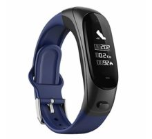 3 in1 Mens' Smart Wristband V08 Sports Bracelet Watch Fitness Activity Tracker+ Bluetooth Wireless Earphone+ Heart Rate BP Monitor Precise Germany Sensor HD Sound Android & iOS Phones