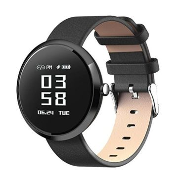 DSMART H2 Smart Fitness Tracker Watch with Step Counter Calories & Highpresice Heart Rate Blood Pressure Sleep Monitor Smart Wristband Sports Bracelet for Men and Womens