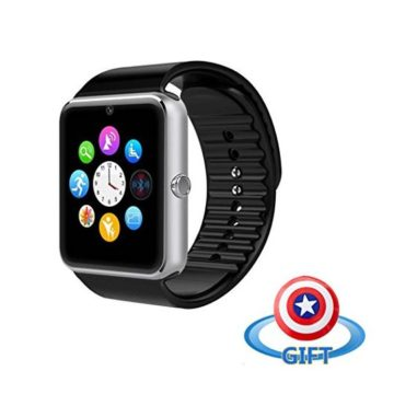 Famhealth Water Resistant Smart Watch Anti Lost and Handfree for Android 42 or Above and iPhone