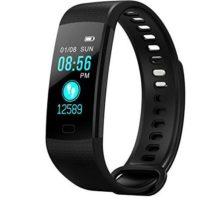Y5 Bluetooth Smart Bracelet Hear Rate Blood Pressure Monitor Smart Band Color Screen Women Men Sport Fitness Track Pedometer