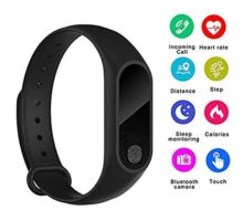 ONDY M2 IP67 Smart Bracelet Bluetooth Synchronous Motion Meter Step Bracelet Gift Custom Cycling Heart Rate Monitors Bluetooth Bracelet Fitness Tracker WatchCalorie Counter Watch GPS Band
