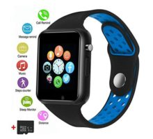 Smart Watches JACSSO Touch Screen Bluetooth Smartwatch with Camera Android Smart Watch Sport Smart Wrist Watch Compatible Android Samsung LG Phones iOS iPhone Men Women