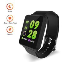 DAWO Fitness Tracker Waterproof Big Color Screen Activity Tracker with Heart Rate Monitor Watch Fitness Watch with Calorie Counter Pedometer Sleep Blood Pressure Monitor for Kids Women Men