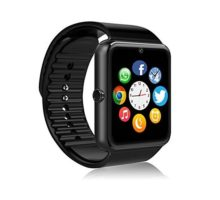 FHDCAM Smart Watch Compatible for iPhone 5s 6 6s 7 7s and Android 43 Above Anti Lost and Pedometer Fitness Tracker