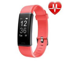 LETSCOM Fitness Tracker with Heart Rate Monitor Watch Activity Tracker with Step Counter Pedometer Calorie Counter Watch for Android and iOS Smart Phone