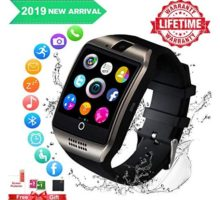 Smart WatchSmartwatch for Android Phones Smart Watches Touchscreen with Camera Bluetooth Watch Phone with SIM Card Slot Watch Cell Phone Compatible Android Samsung iOS Phone XS X8 7 6 5 Men Women
