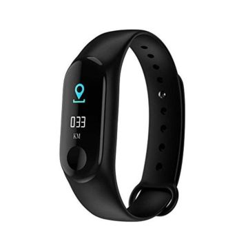 Fitness Tracker HR Activity Tracking Watch with Blood Pressure and Heart Rate Monitor Waterproof Smart Band BraceletPedometerBluetoothSleep MonitoringCalorie CounterMessage ReminderAnswer Call