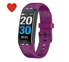 KEEPONFIT Fitness Tracker Activity Tracker Watch with Heart Rate Monitor IP68 Waterproof Pedometer Watch Smart Fitness Band with Step Counter for Kids Women and Men