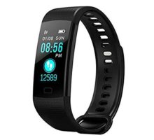 Morenitor Y5 Smart Bracelet Heart Rate Monitor Tracker Bluetooth Sport Watch Sleep Monitor Smartwatch for Android 51 or Above and iOS 80