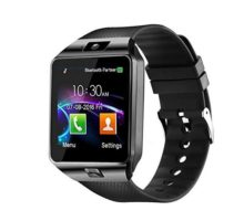 Aeifond Smart Watch DZ09 Bluetooth Smartwatch Touch Screen Wrist Watch Sports Fitness Tracker with Camera SIM SD Card Slot Pedometer Compatible iPhone iOS Samsung LG Android Kids Men Women