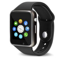 Aeifond Smart Watch Touch Screen Sport Smart Wrist Watch Bluetooth Smartwatch Fitness Tracker Camera Pedometer SIM TF Card Slot Compatible Samsung Android iPhone iOS Kids Women Men