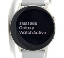 Samsung  Galaxy Watch Active Smartwatch 40mm Aluminum  Silver