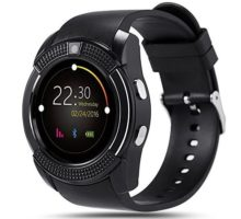 Bluetooth Smart WatchWrist Watch Bracelet with SIM Card Slot Camera Phone Calls Pedometer Music Playing Alarm Clock Smartwatch for Android Phone
