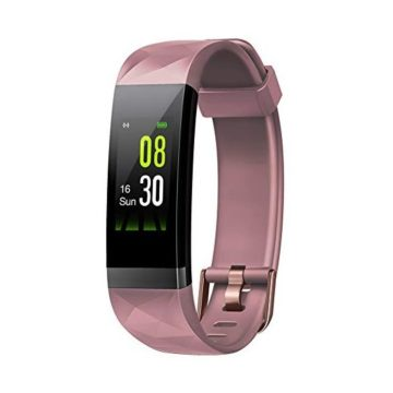 Letsfit Fitness Tracker HR Activity Tracker Color Screen Heart Rate Monitor Sleep Monitor Step Counter Calorie Counter Pedometer IP68 Smartwatch for Kids Women Men