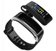 Pesly 2in1 Smart Bracelet with Bluetooth Earphone Waterproof Smart Watch Bracelet