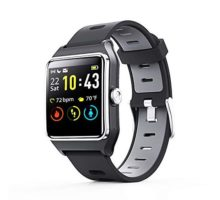 Smart Watch  ENACFIRE W2 IP68 Waterproof Fitness Tracker Smartwatch with GPS Heart Rate Monitor Sleep Tracker Step Counter Activity Watches for Men Women Kids Compatible with Android iOS Phone