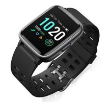 "Fitness Smart Watch HR Activity Tracker Watch  13"" Touch Screen Waterproof Watch for Android iOS Phone with Heart Rate Monitor Pedometer Sleep Monitor Calorie Counter for Kids Women and Men"