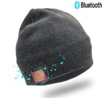 Enjoybot Bluetooth Beanie Wireless Knit Winter Hats Cap with Builtin Stereo Speakers and Microphone for Outdoor Sports