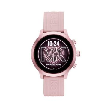 Michael Kors Access Women MKGO Touchscreen Aluminum and Silicone Smartwatch Blush PinkMKT5070